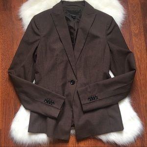 Ann Taylor brown blazer